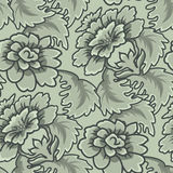 Seamless Vintage Wallpaper Pattern Stock Image