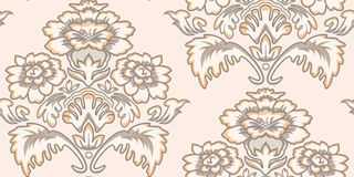 Seamless Vintage Wallpaper Pattern Royalty Free Stock Image