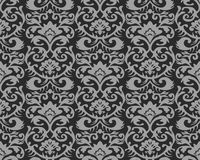 Seamless Vintage Wallpaper Pattern royalty free illustration