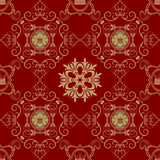 Seamless Vintage. Wallpaper Pattern. Royalty Free Stock Images