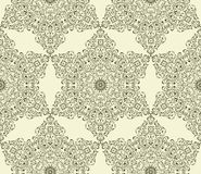 Seamless Vintage Wallpaper Pattern Stock Photo
