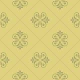 Damask seamless pattern. Seamless vintage wallpaper pattern in stock illustration