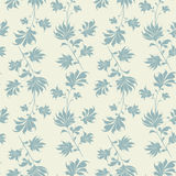 Seamless vintage wallpaper pattern. Royalty Free Stock Photos