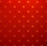 Seamless vintage wallpaper pattern Stock Image