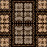 Seamless Vintage. Wallpaper Pattern. Vector Stock Photos