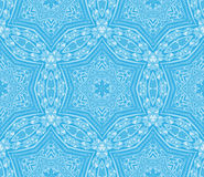 Seamless vintage winter pattern Stock Images