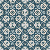 Seamless vintage worn out cute flower pattern background. Stock Photos