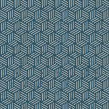 Seamless vintage worn out 3D line box pattern background. stock photo