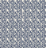 Seamless vintage worn out geometry aboriginal pattern background. Seamless worn out background image of blue geometry aboriginal pattern Royalty Free Stock Image