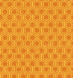 Seamless vintage worn out polygon geometry pattern background. Stock Images
