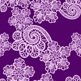 Seamless lace pattern royalty free illustration