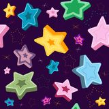 Seamless violet pattern Royalty Free Stock Image