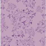 Seamless violet pattern Stock Photography