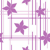 Seamless violet pattern Royalty Free Stock Images