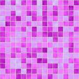 Seamless violet tiles texture royalty free illustration