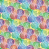 Seamless vivid abstract pattern Stock Image
