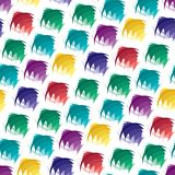 Seamless vivid abstract pattern Royalty Free Stock Image