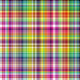 Seamless vivid checkered pattern Royalty Free Stock Images