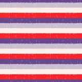 Seamless vivid color horizontal stripes pattern Royalty Free Stock Photography