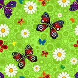 Seamless vivid pattern royalty free illustration