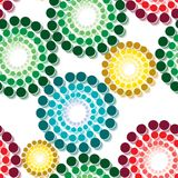 Seamless vivid pattern Royalty Free Stock Photography
