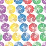Seamless vivid pattern Royalty Free Stock Images