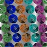 Seamless vivid pattern Stock Photo