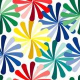 Seamless vivid pattern Stock Photography