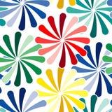 Seamless vivid pattern Royalty Free Stock Image