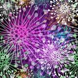 Seamless vivid spotty pattern Stock Photography