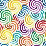 Seamless vivid swirl pattern Stock Photo