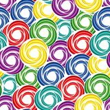 Seamless vivid swirl pattern Stock Image