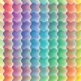 Seamless vivid wave pattern vector illustration