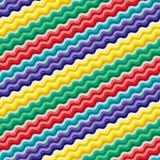 Seamless vivid wave pattern stock image