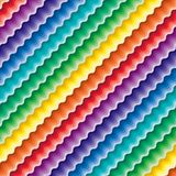 Seamless vivid wave pattern royalty free stock images