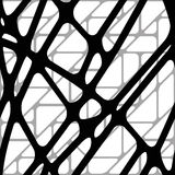 Seamless volumetric background from lines. Seamless volumetric background from black lines Stock Photo