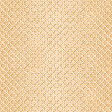 Seamless waffle background Royalty Free Stock Image