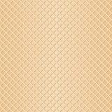 Seamless waffle background. Vector illustration of a seamless waffle background Royalty Free Stock Image