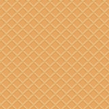 Seamless waffle texture Royalty Free Stock Images