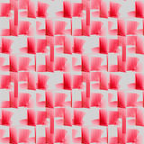 Seamless waffle-weave pattern pink red light gray Royalty Free Stock Photography