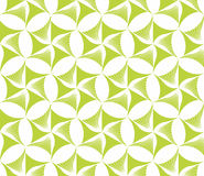Seamless wall-paper with green flowers Royalty Free Stock Images