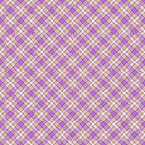 Seamless wall-paper, plaid, beige and lilac. Seamless wall-paper, plaid, beige-lilac. A classical pattern with rhombuses, a bright print for fabric, greeting Royalty Free Stock Photography