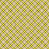 Seamless wall-paper, plaid, gray and yellow. Seamless wall-paper, plaid, gray-yellow. A classical pattern with rhombuses, a bright print for fabric, greeting Royalty Free Stock Photos