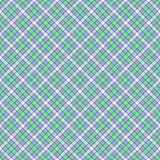 Seamless wall-paper, plaid, mint and lilac. Seamless wall-paper, plaid, mint-lilac. A classical pattern with rhombuses, a bright print for fabric, greeting cards Royalty Free Stock Photo