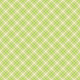 Seamless wall-paper, plaid, sand and lime. A classical pattern with rhombuses, a bright print for fabric, greeting cards, packing paper, etc. Basis for design Royalty Free Stock Image