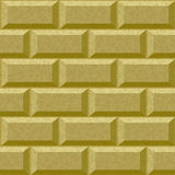 Seamless wall with rusticated blocks Stock Photo