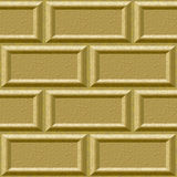 Seamless wall with rusticated blocks Stock Image