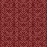 Seamless wallpaper 1. Old victorian damask seamless wallpaper design Royalty Free Stock Images