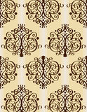 Seamless wallpaper 1 Royalty Free Stock Photo