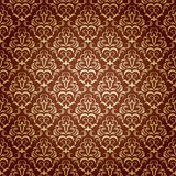 Seamless wallpaper. Seamless ornamental wallpaper, floral pattern, illustration Royalty Free Stock Images